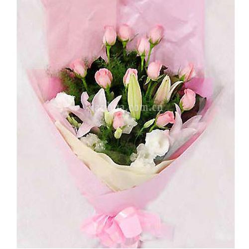 粉色玫瑰浪漫