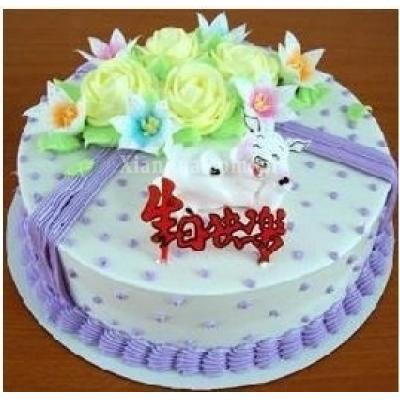 十二生肖-猪(蛋糕)
