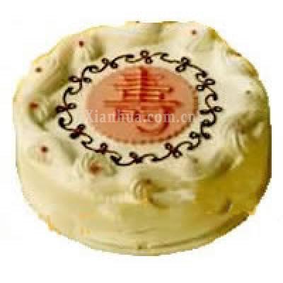 福如东海 寿比南山(蛋糕)
