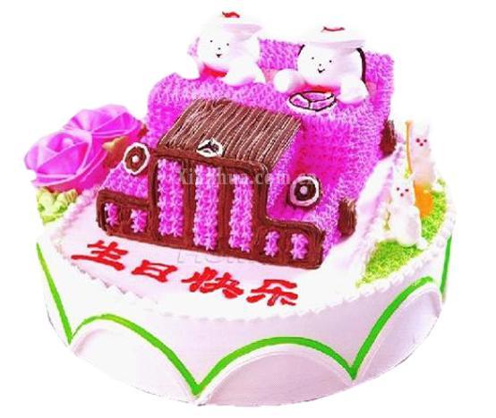 儿童蛋糕 祝福蛋糕
