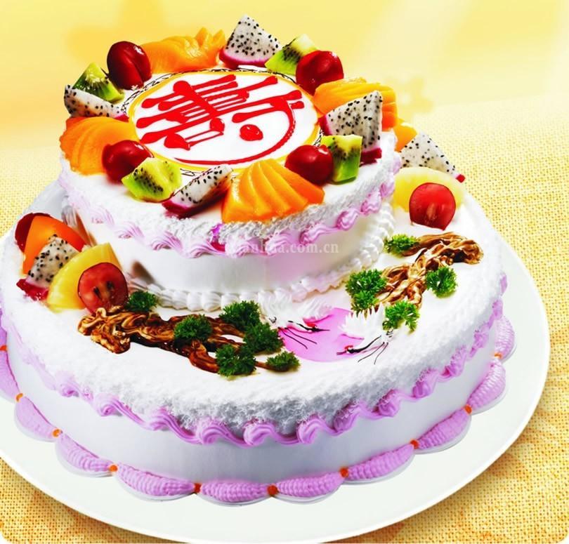米旗—福寿安康 蛋糕【图片 价格 品牌 报价】