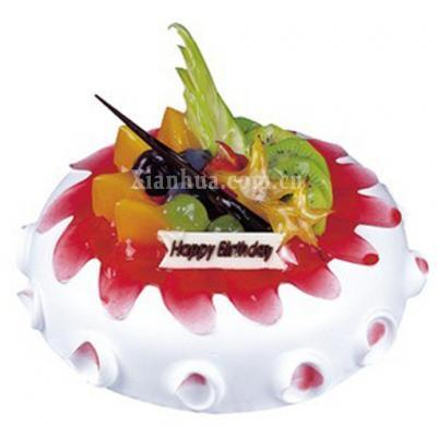 金凤成祥 草莓冰淇淋 蛋糕