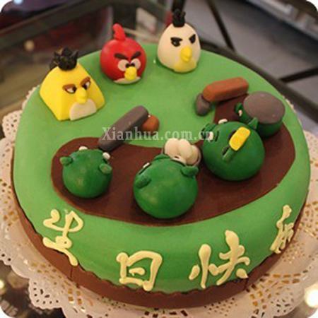 愤怒的小鸟(蛋糕)