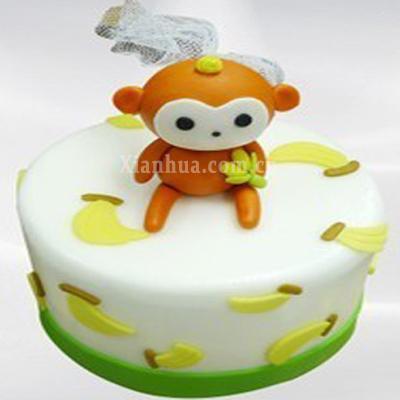 小猴子 蛋糕【图片 价格