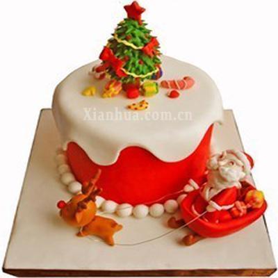 圣诞节 蛋糕【图片 价格