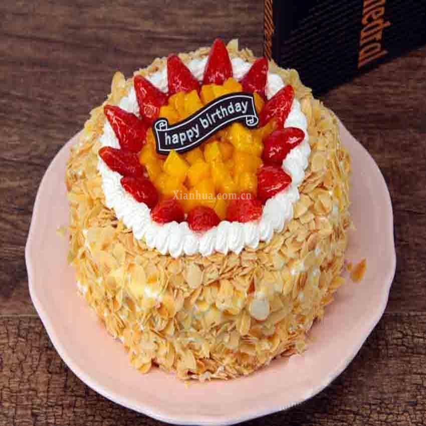 一品轩-芒果草莓蛋糕(蛋糕)