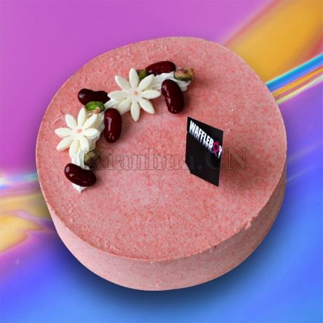 窝夫小子-北海道红豆蛋糕(4寸)