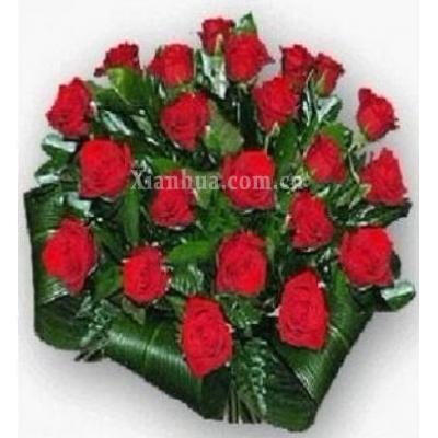 阿联酋Bouquet of 36 red roses
