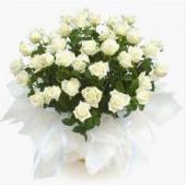 阿联酋Bouquet of 36 White Roses