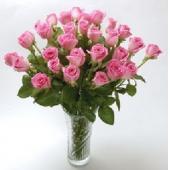 韩国Pink Rose Vase