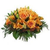 欧洲Orange bouquet