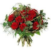 欧洲Bouquet of red roses