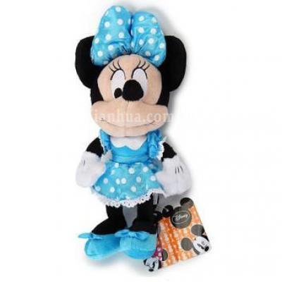 迪士尼Disney蓝蝴蝶结米妮