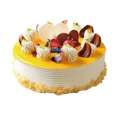 克莉丝汀-可可爱上芒果蛋糕