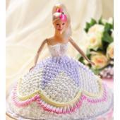 一品轩-芭比娃娃生日蛋糕