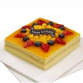 一品轩-金黃芒果芝士蛋糕