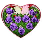 保鲜花—幸福时光 收藏着昔日的美丽