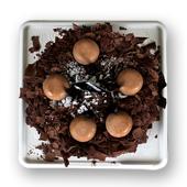 窝夫小子-德式巧克力松露蛋糕(4寸)