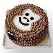 窝夫小子-淘淘猴巧克力蛋糕(4寸)