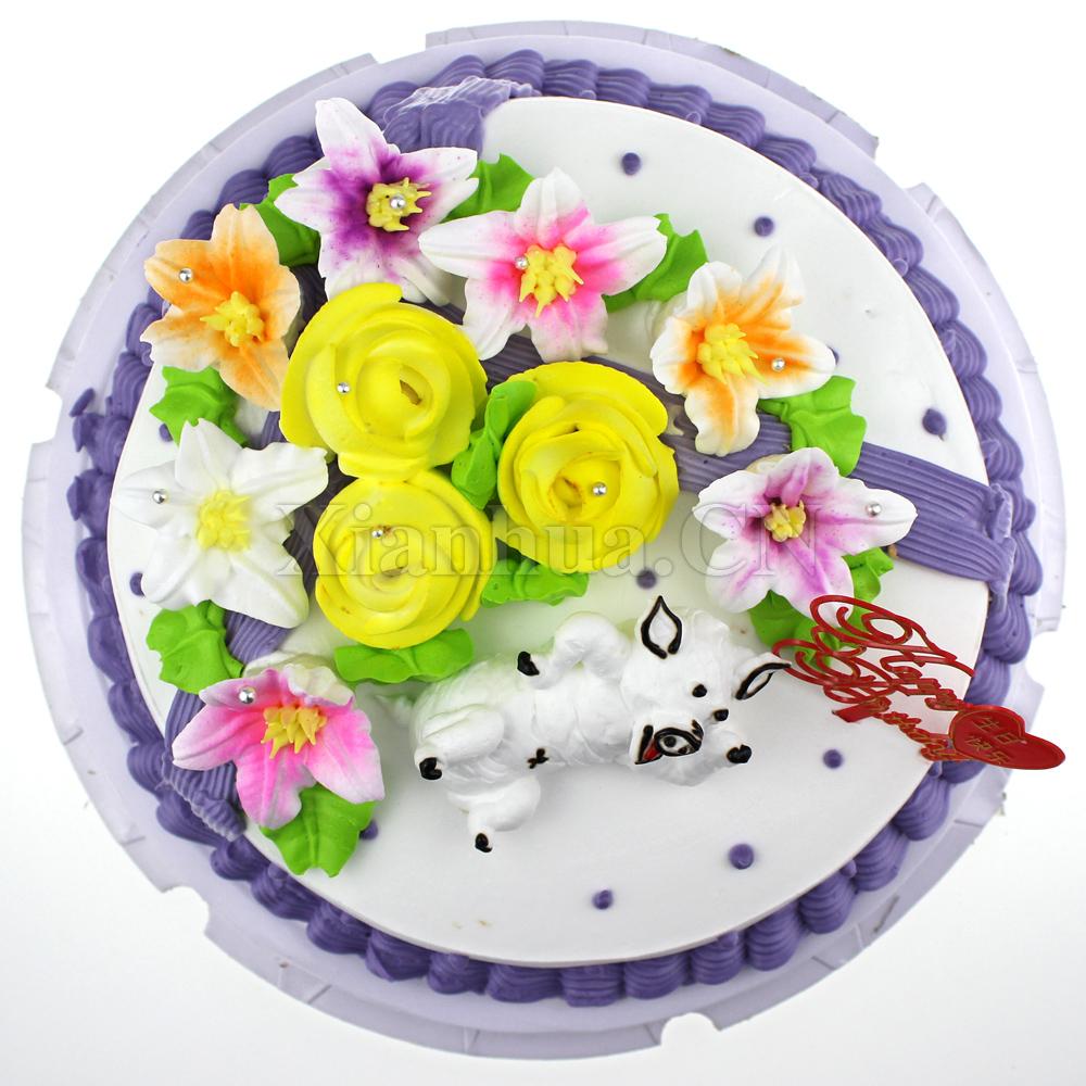 生日蛋糕十二生肖龙_十二生肖-猪 蛋糕【图片 价格 品牌 报价】